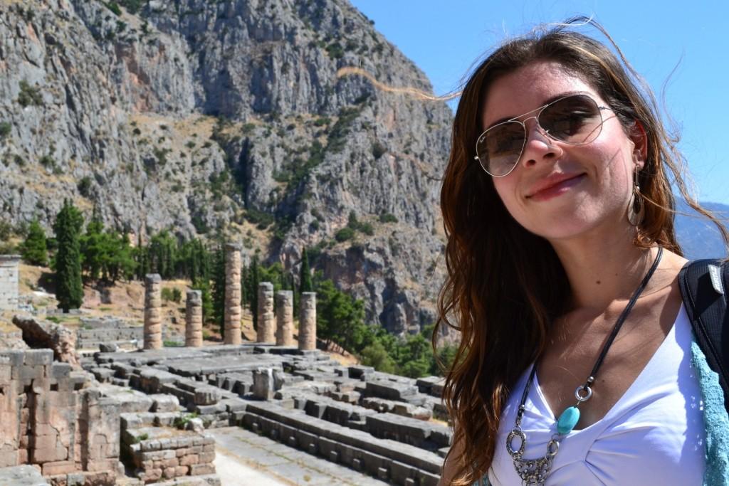 Templo de Apolo e Oráculo de Delfos na Grécia