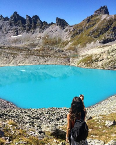 trilha dos 5 lagos pizol suiça