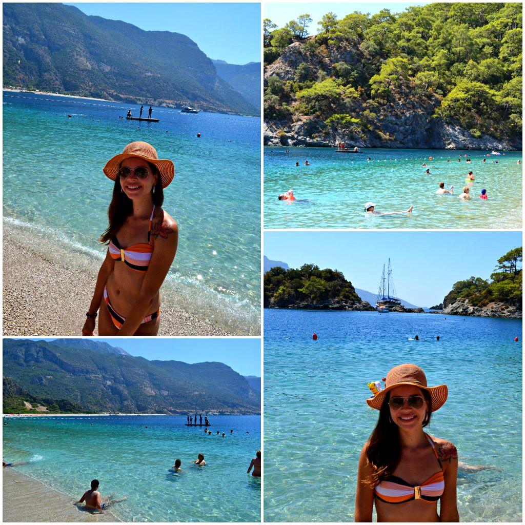 praia incrível na turquia