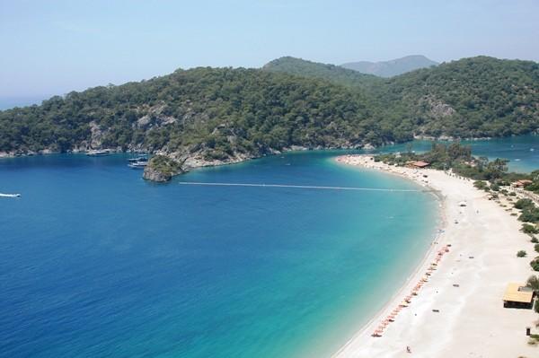 oludeniz a praia mais linda da turquia