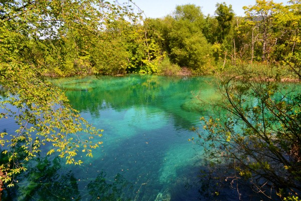 paisagem lagos plitvice