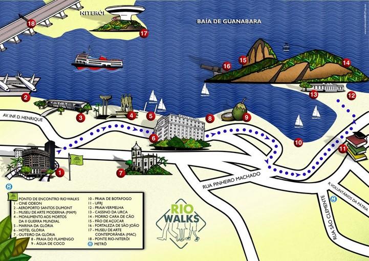 roteiro baía à vista rio walks