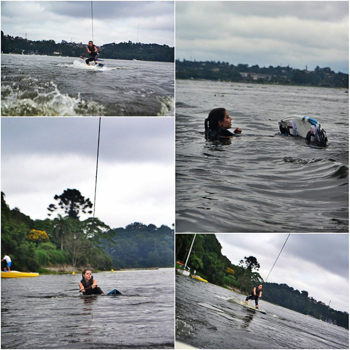 wakeboard represa do guarapiranga