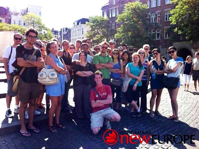 walking tour amsterdam