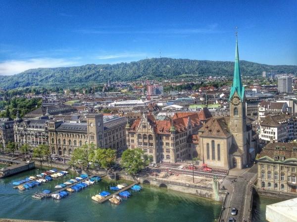 zurique principais cidades na suica
