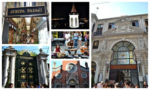 rua istiklal istambul