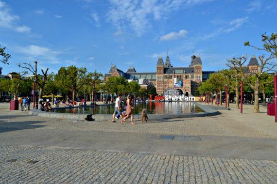 praça dos museus amsterda