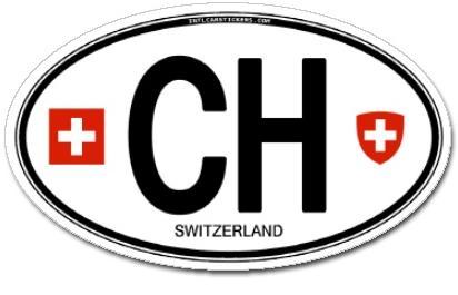 adesivo carro suiça