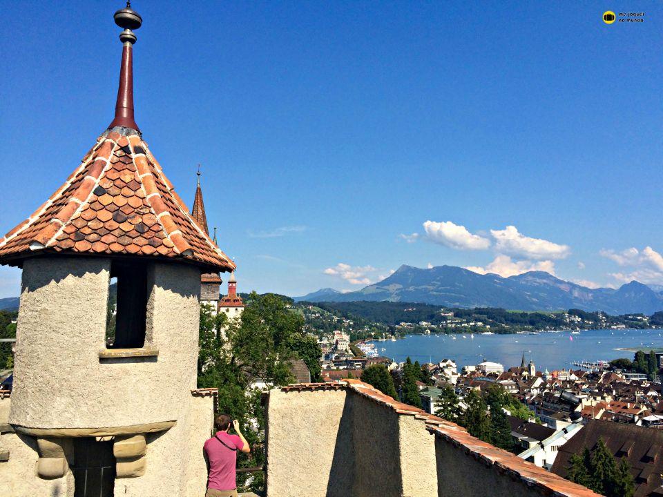 torres medievais lucerne suiça