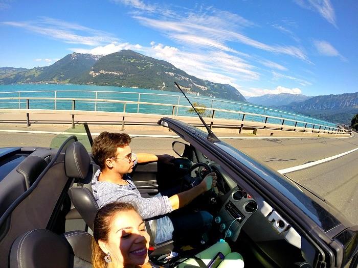 viajar de carro suiça