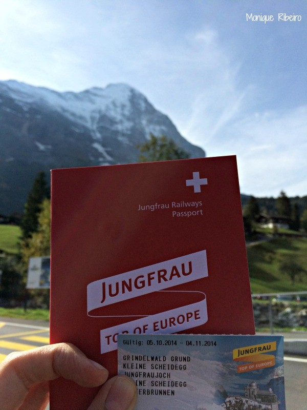 ticket junfraujoch