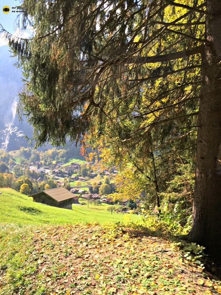 cores de outono suiça