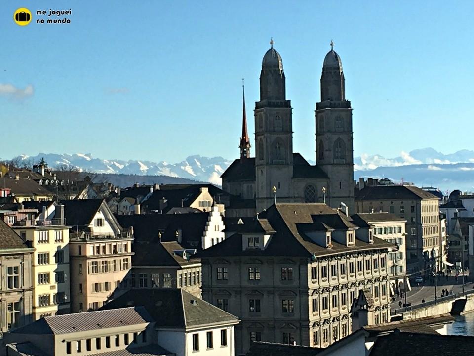 Principais atrações turísticas em Zurique