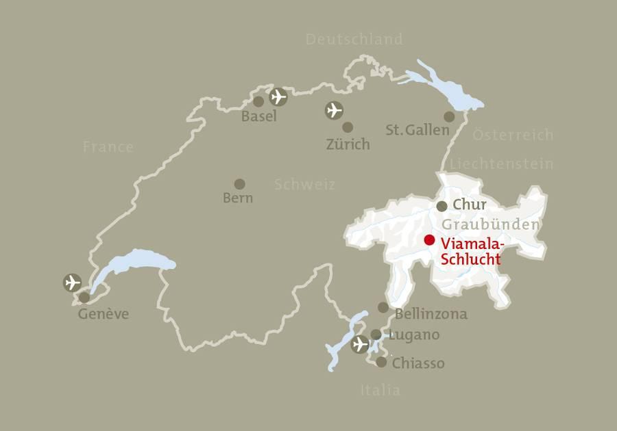 viamala schlucht suiça passeios