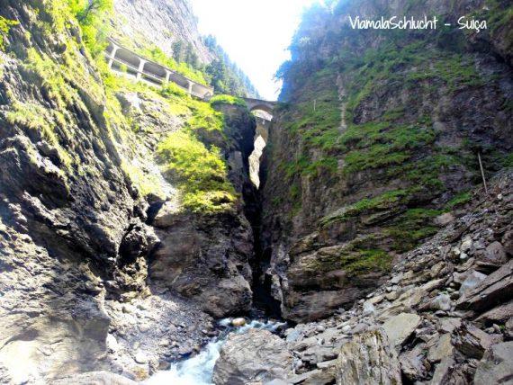 viamalaschlucht canyon suiça