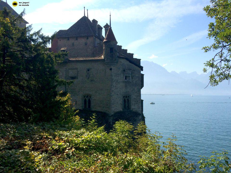chateau de chillon lago genebra
