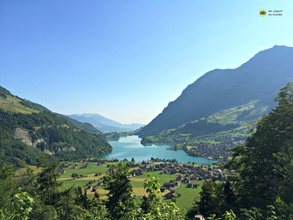 lago lungern interlaken suiça