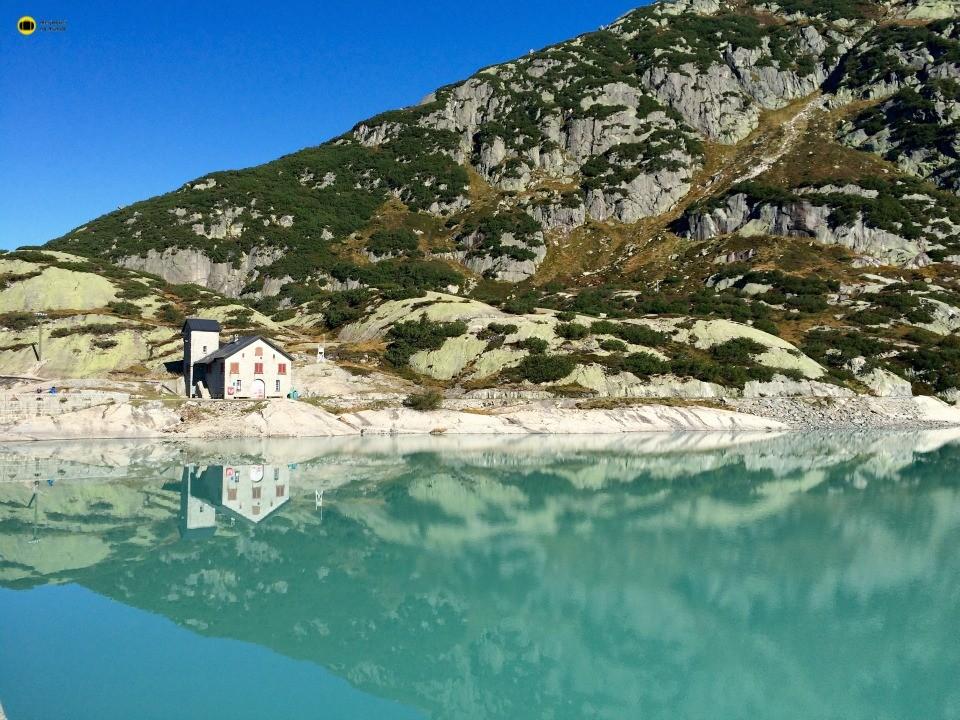 lago montanha suiça
