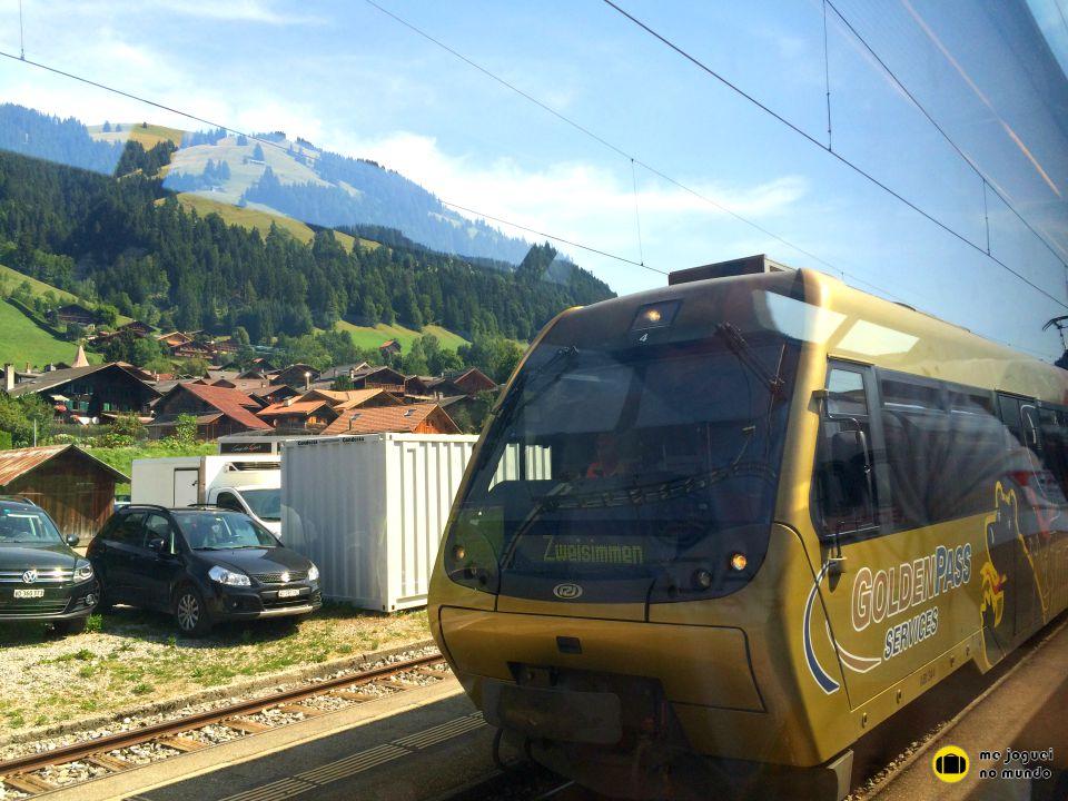 trem panoramico suiça golden pass