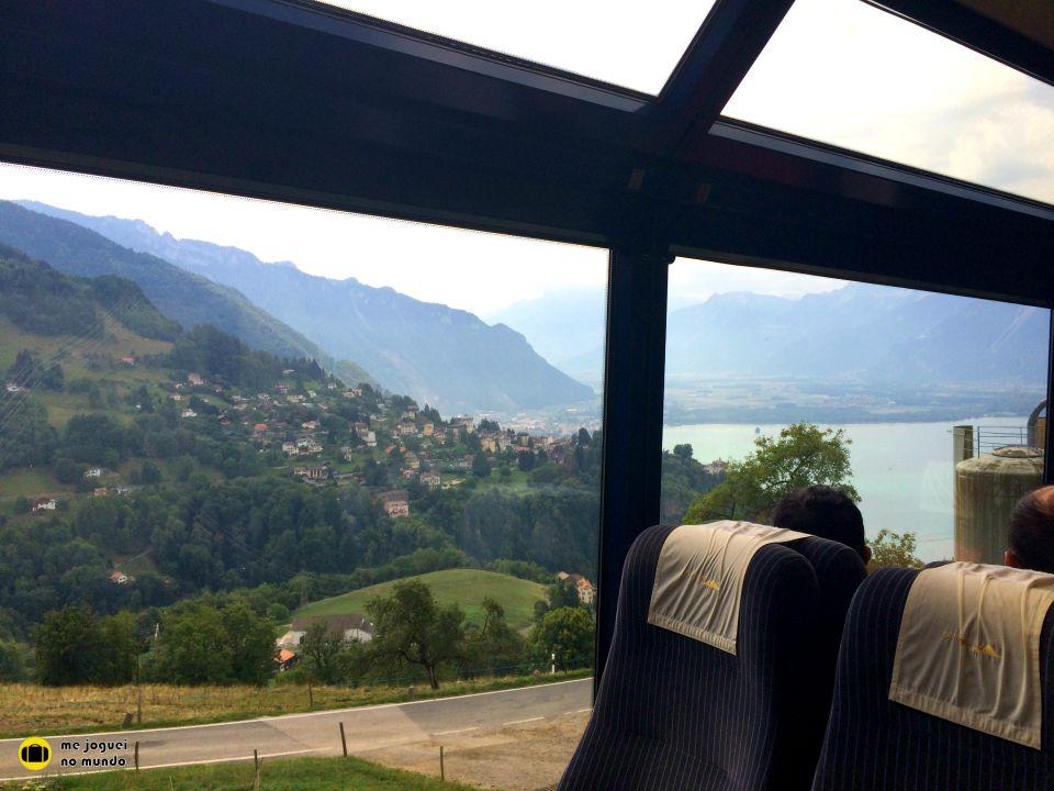 trem panoramico suiça goldenpass