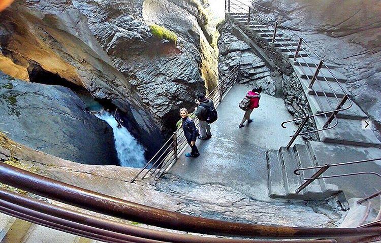 cachoeira trümmelbach lauterbrunnen