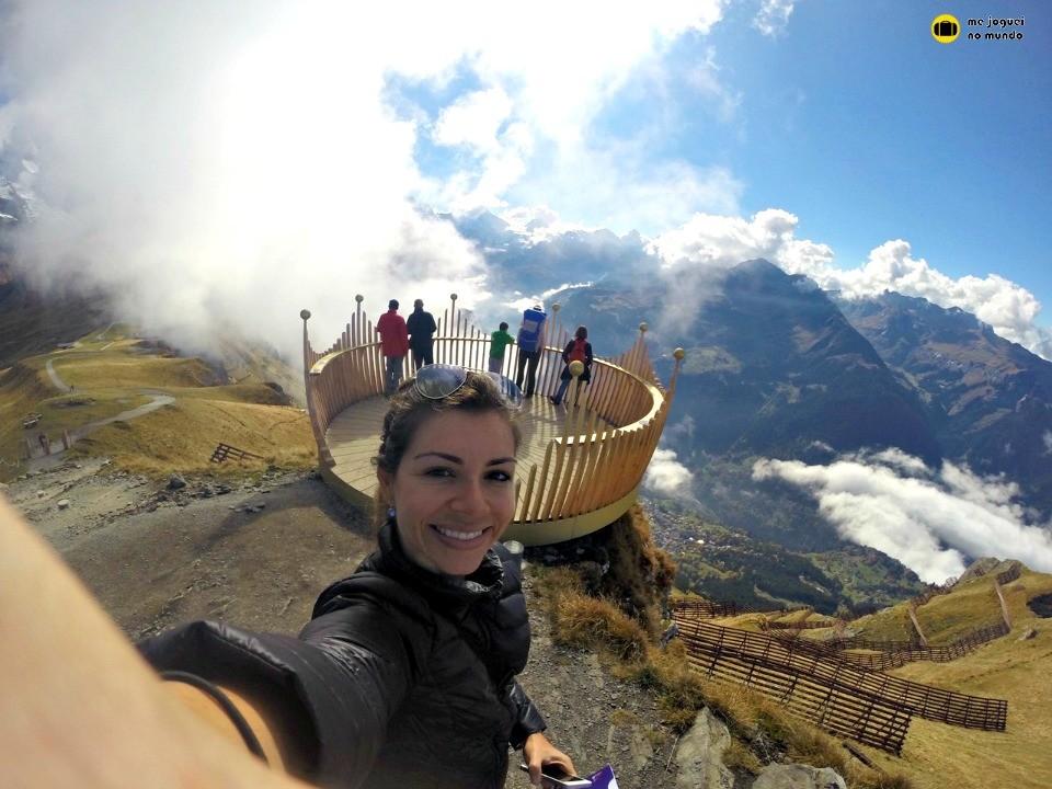 caminhada alpes suiços mannlichen wengen