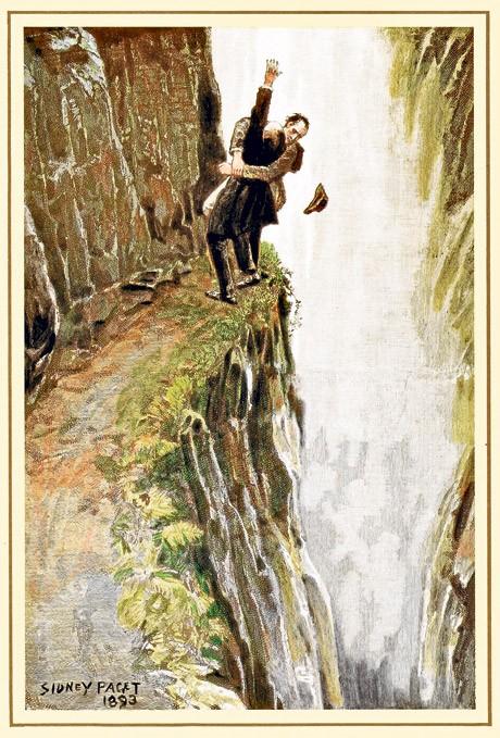 cachoeira Reichenbach sherlock Holmes suiça