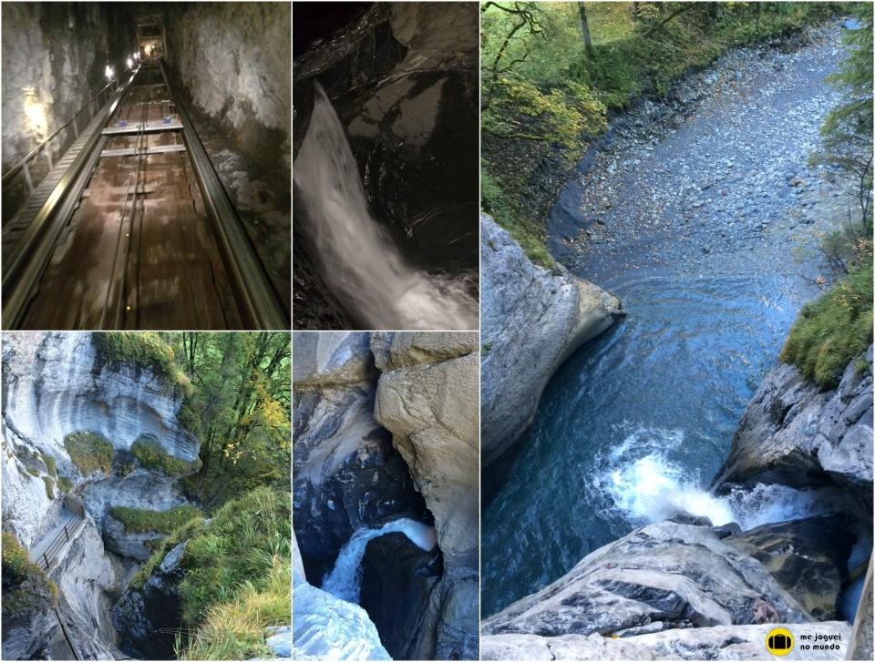 trümmelbach cachoeiras lauterbrunnen
