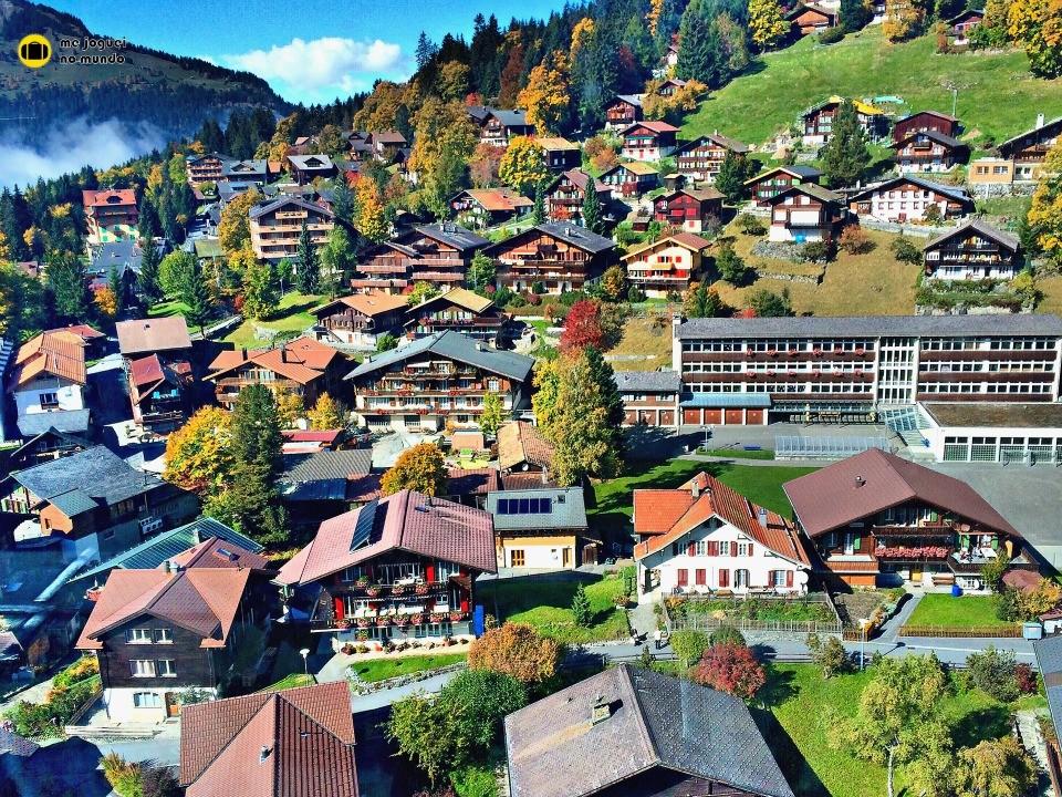 vila de wengen suiça