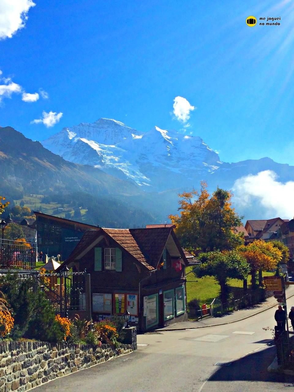 vila sem carros suiça wengen