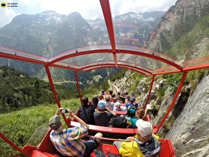 funicular gelmer grimselwelt suiça