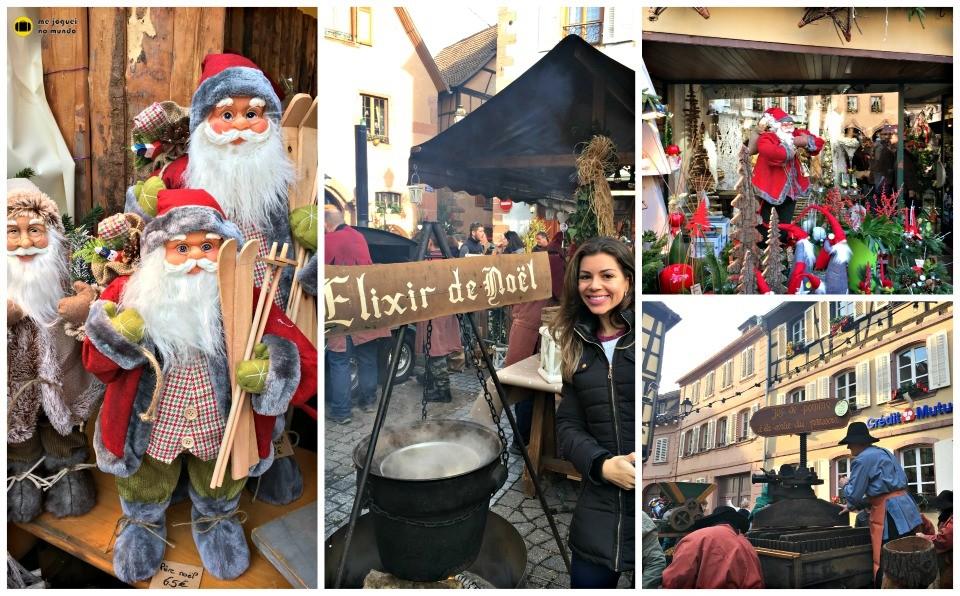 mercado de natal frança ribeauville
