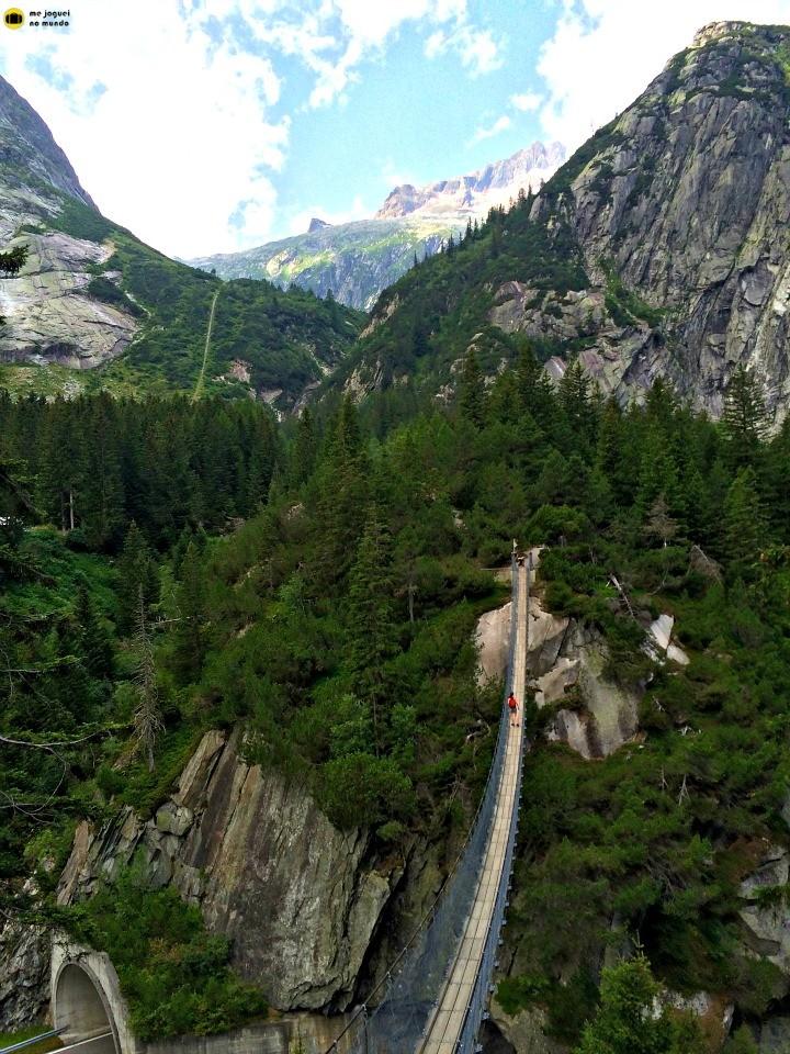 ponte suspensa grimselwelt