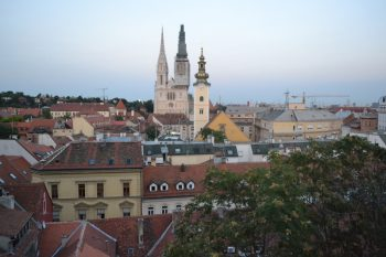 zagreb capital croacia