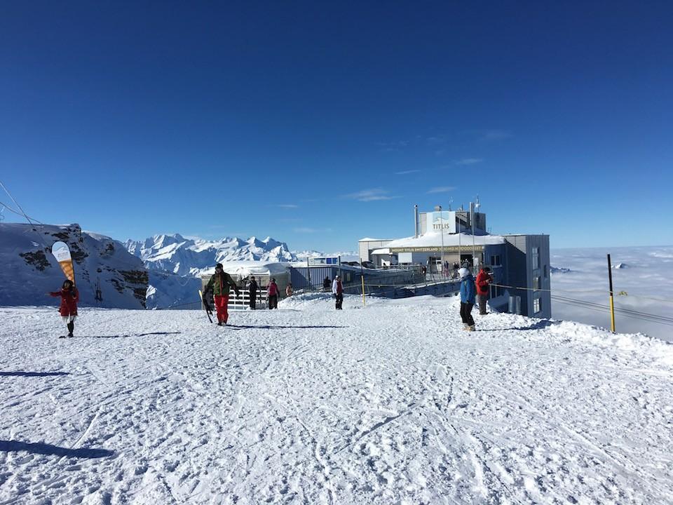 passeio ao monte titlis suiça