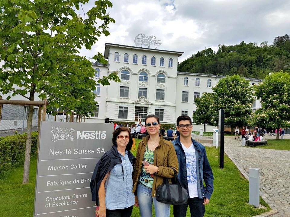 cailler fabrica de chocolates suiça