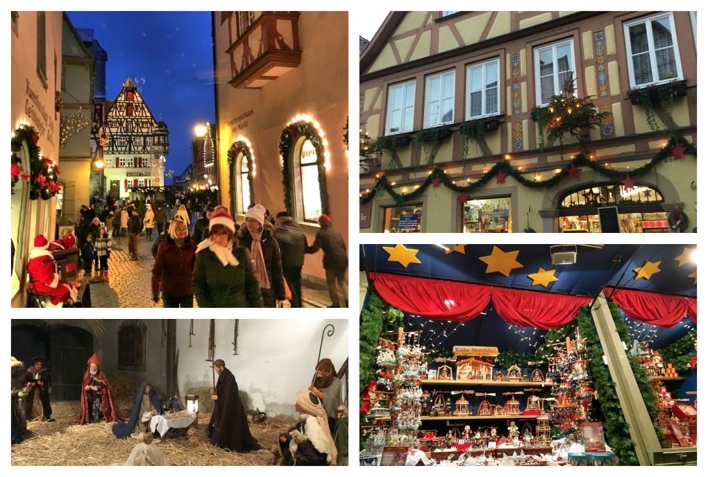 mercado de natal rothenburg alemanha