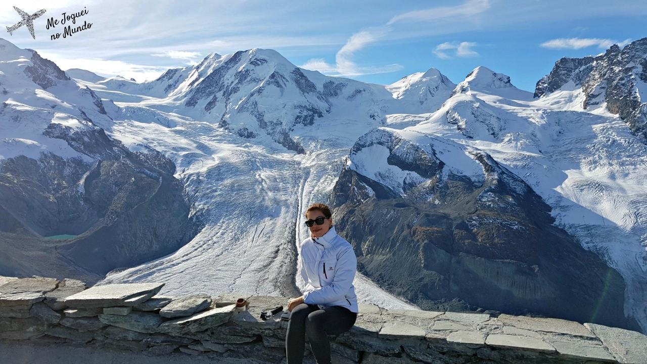 glaciar zermatt inverno
