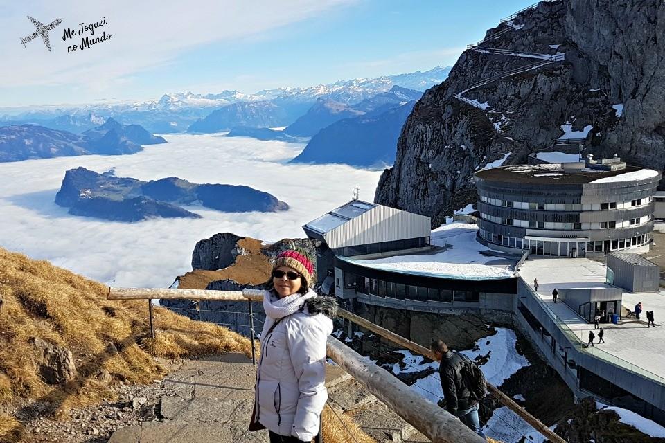 monte pilatus suiça montanha