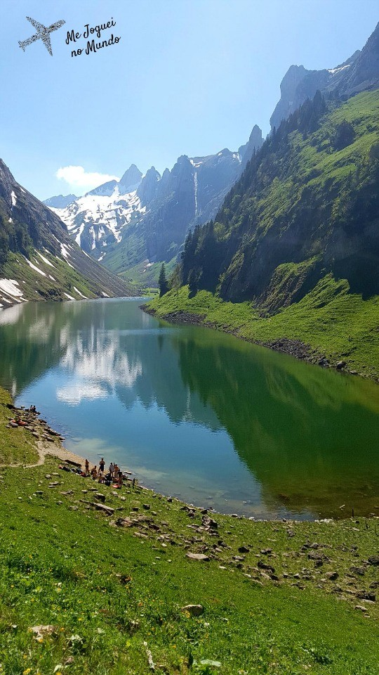 lago fällensee suiça