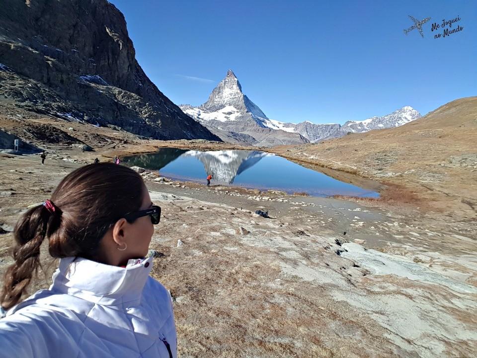 lago riffelsee reflexo matterhorn
