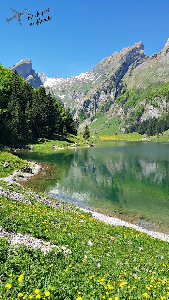 lago seealpsee suiça
