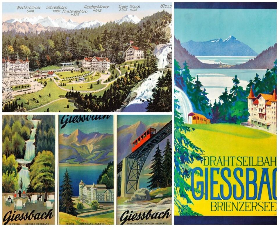 posters vintage suiça