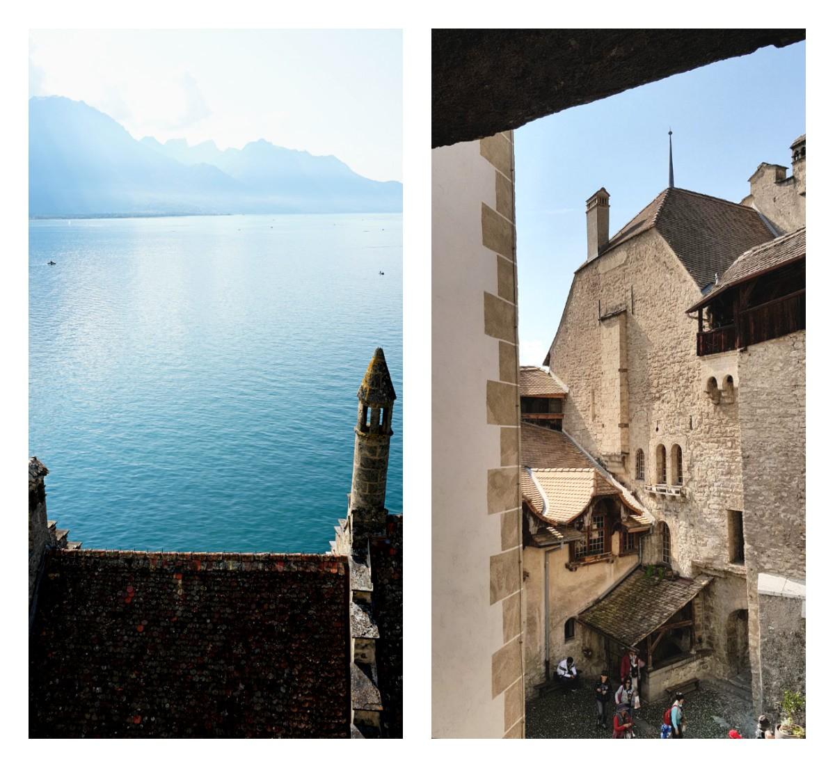 castelos suiça château de chillon