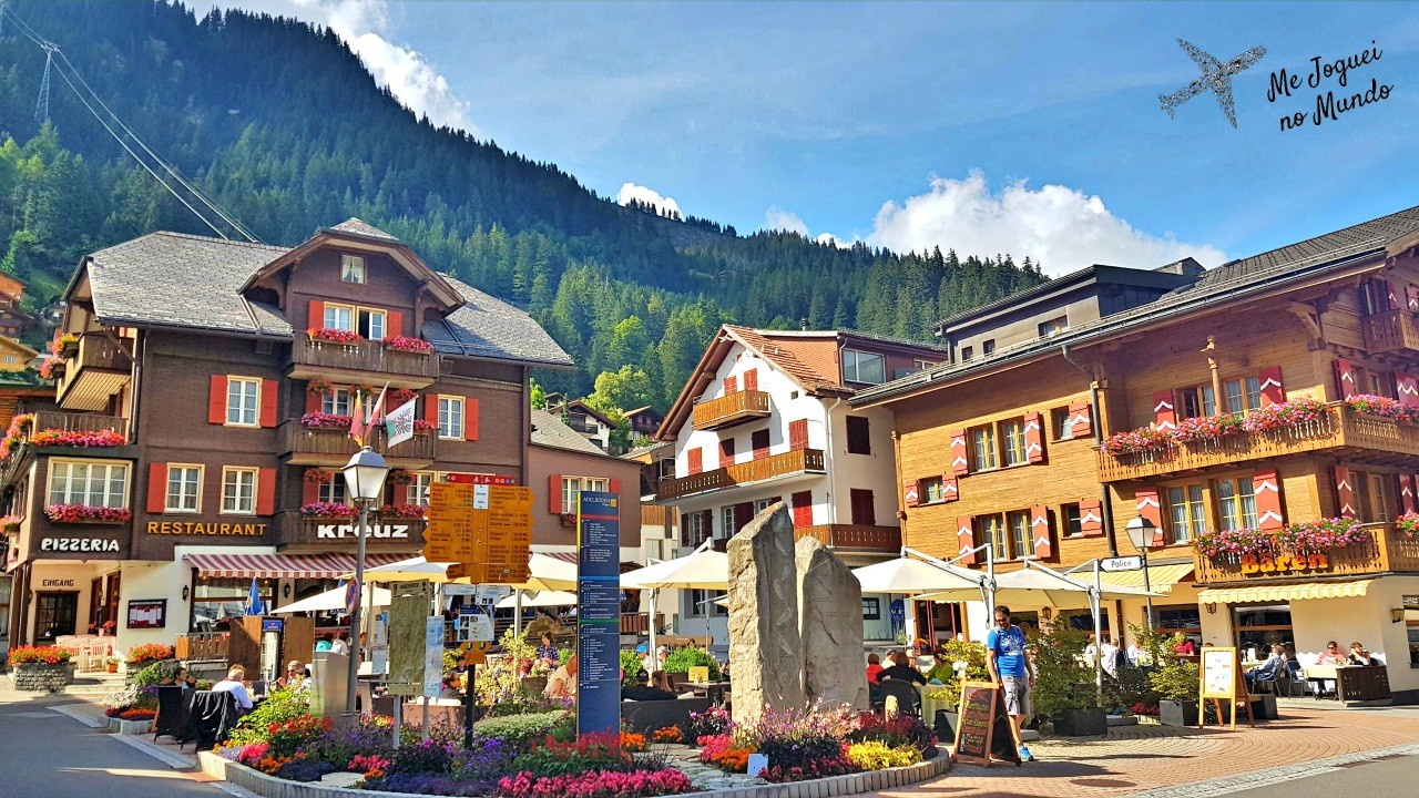 vila adelboden suiça