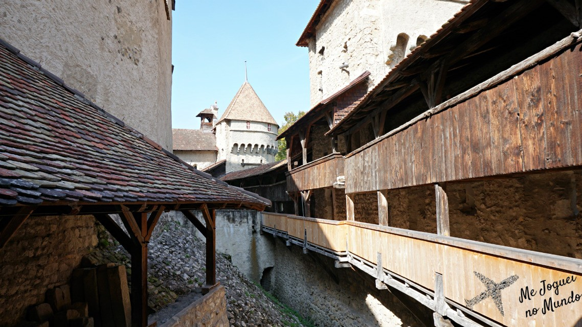 visita chateau de chillon suiça