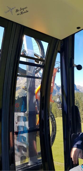 bicicleta alpes suiça