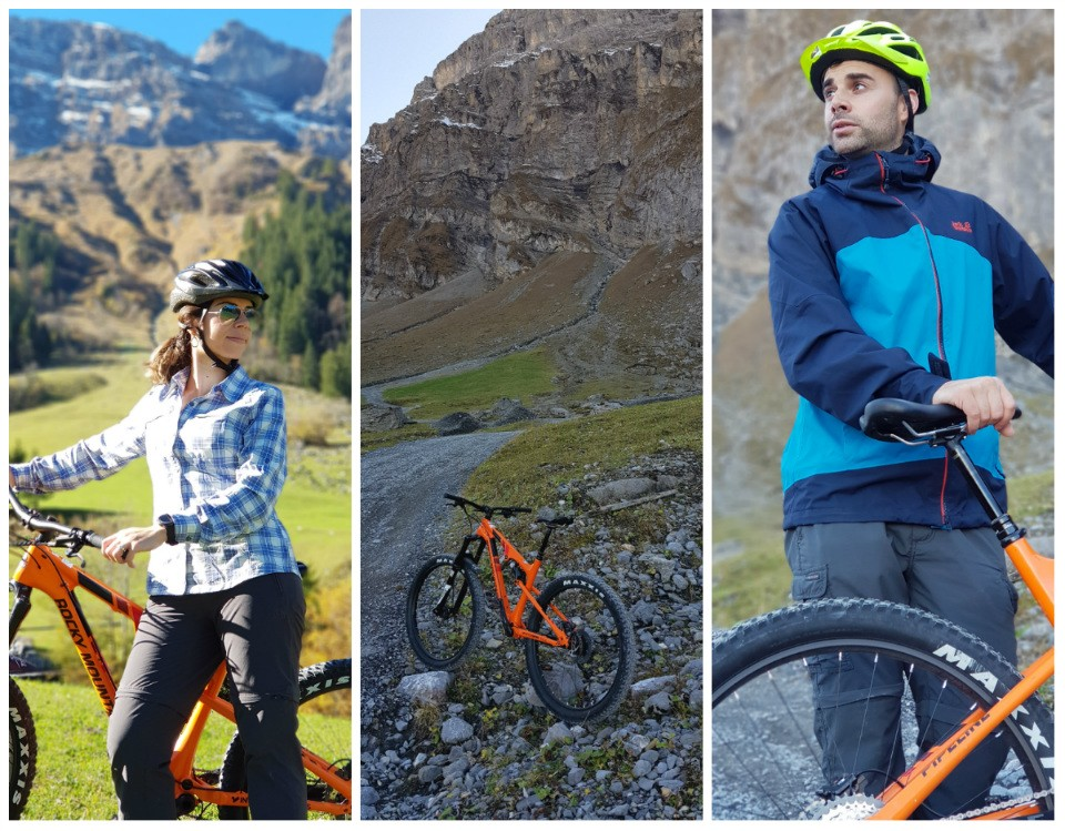 mountain bike em engelberg