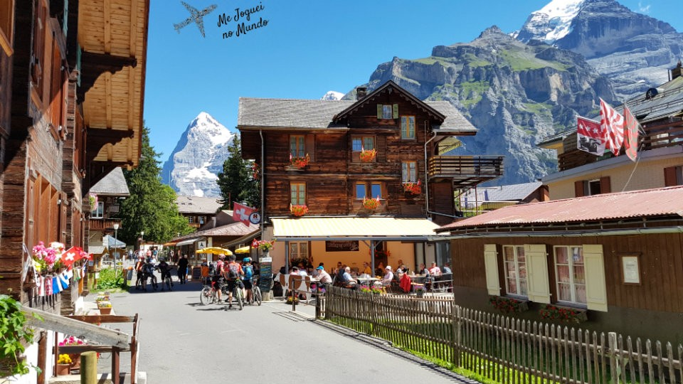vila murren e gimmelwald suica