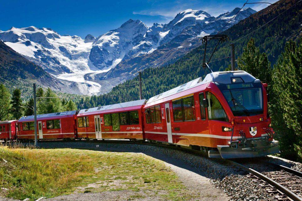 trem Bernina express